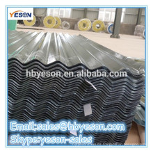 Chapa de chapa de acero ondulado recubierta de onda / hoja de techado - China