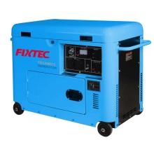 Herramientas eléctricas Fixtec 4.4kw Generador eléctrico Diesel