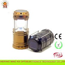 Luzes solares dobráveis do acampamento da lanterna do multi projeto moderno da função