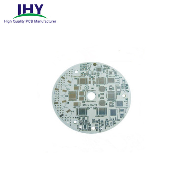 Round Double-Sided Aluminum PCB Board for LED PCB