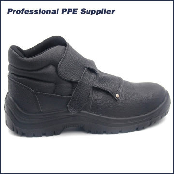 PU Injeção Steel Toe Welder Safety Shoes