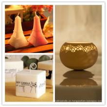 Casa e velas de cera de soja perfumadas casamento
