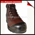 PU covered leather safety shoes with steel toe DESMA boots