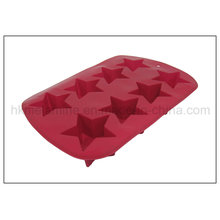 8 Cells Star Shaped Silicone Cake Mold (RS26)