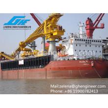 Para equipos de carga y elevación de carga a granel en buques y transbordos