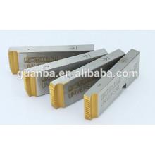 Troqueles para tubos HSS con revestimiento de titanio para roscar tubos