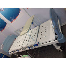 New Type Movable Double-Function Manual Hospital Bed