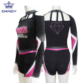 Rosa Mystique Cheerleading Uniformes