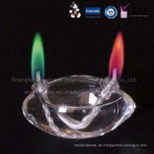 Elegantes Design Verschiedene Modell Double Layer Fancy Farbe Flamme Geburtstagskerze