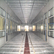 Bus Coating Equipment with Water Curtain Room