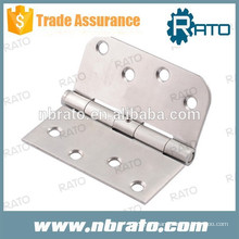 RH-103 dobradiça de porta de madeira de aço inoxidável de 4 polegadas