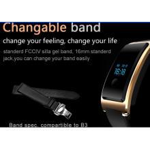 Динамический пульса Мониторинг, Мониторинг сна, шагов, взаимосвязанных микро-канал движения, Bluetooth Смарт как один из Смарт-часы