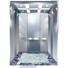 Aksen Mirror Etched Machine Room Passenger Elevator J0320