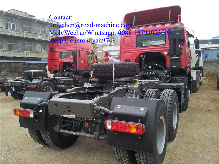 Howo Tractor Truck 4