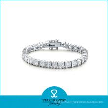Bracelet de mode en argent sterling 925 pour la Saint-Valentin (B-0009)