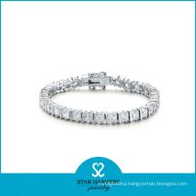 925 Sterling Silver Fashion Bracelet for Valentine′s Day (B-0009)