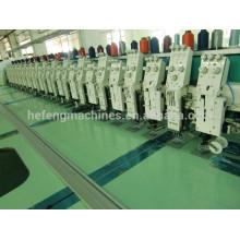 12 + 12 Cabeças Mix Flat Taping Cording Enrolando Máquina Bordados