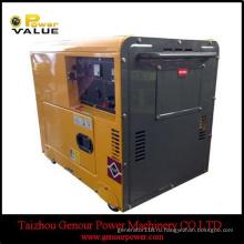 Охладитель 5HP Охлаженный воздухом Тепловозный Двигатель генератора 5 л. с.