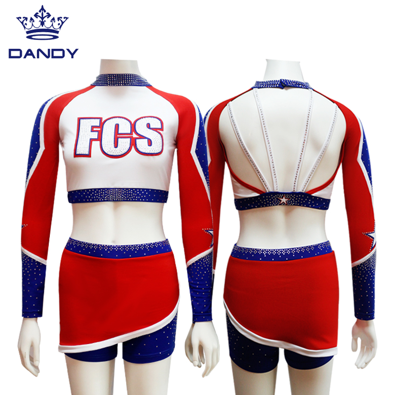 black and white cheer uniforms