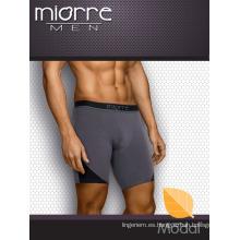 Miorre Venta al por mayor Hombres Modal tejido Boxer Breve Elegante Fume Color