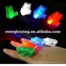 Lâmpada de noite LED anel de dedo
