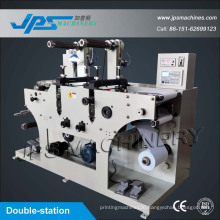 Thermal Paper Roll Die Cutting Machinery with Slitting Funcion