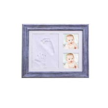 Souvenir Distressed Rustic Wooden Baby Picture Frames Wholesale