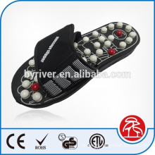 Massage slipper acupuncture shoes for home healthcare