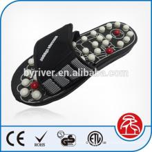 Sapatilhas de acupuntura para cuidados de saúde em casa de massagem