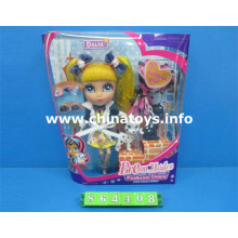 Nova boneca de brinquedo de plástico de brinquedo de bebê (864408)