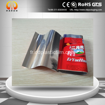 19um Metallized Pet Twist Film d'emballage de bonbons