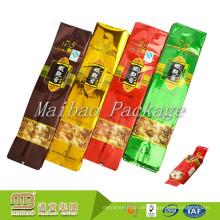 Hersteller Großhandel Aluminiumfolie Kunststoff Heat Sealable Custom Logo Gedruckt Individuelle Tee Verpackung Taschen