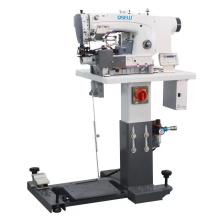 QS-63900 High speed Automatic Computer chainstitch lockstitch jean bottom hemming industrial sewing machine