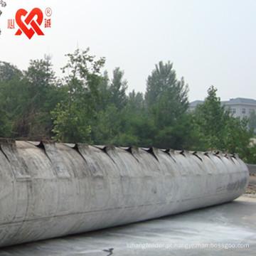 China profissional barco de elevação / em movimento e lançamento de airbags de borracha marinha airbag