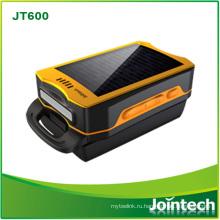 Мини-Размер портативный Солнечной платные GPS трекер для полевой работник отслеживая Разрешение