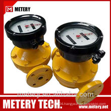 Oval gear rotary gas meter MT100OG