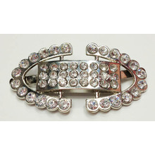 Zin Alloy Shoe Buckle strass