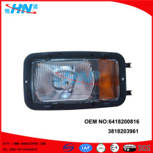 6418200861 Body Replacement Headlight For Mercedes Truck Cab 641