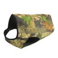 Tourbon Zippered closure neoprene camo dog vest for hunting dog