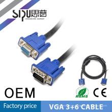 SIPU 1,8 m 6ft Vga zu Vga Kabel 15pin mit zwei Kernen