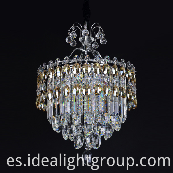 crystal octagon beads chandelier