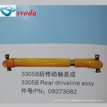 Terex dumper partes de acero inoxidable trasero pto drive shaft09273082