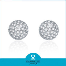 El más nuevo diseño Whosale Silver Earring