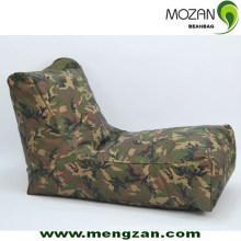Patrón de camuflaje beanbag sofá beanbag largo al aire libre
