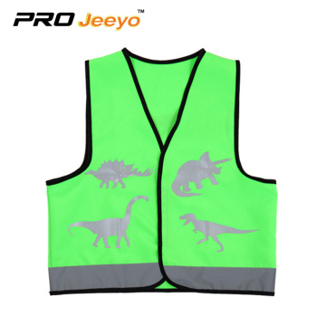children catoon customsizd reflectiv safety vest