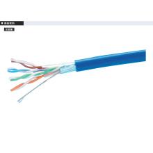 Câble Ethernet à cuivre recuit blindé blindé Cat5e haute vitesse
