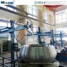 Sistema de purificación de aire de filtro para soldadora integrada