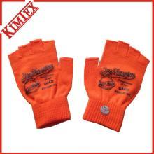 100% акриловые рекламные талоны короткие трикотажные перчатки без пальцев