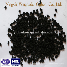 Ningxia anthracite 0.9mm coal column activated carbon for gas filter