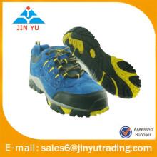 Wandern Mode Blue Leder Schuhe Männer